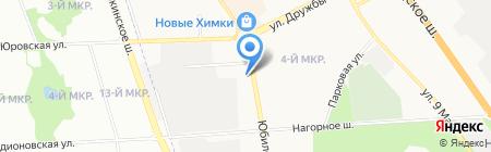 Химкиэлектротранс на карте Химок