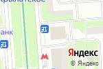 Схема проезда до компании Вкусные колбасы в Москве