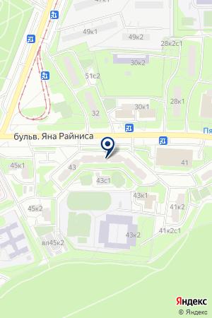 АРГУНЬ на карте Москвы
