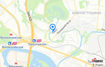 Местоположение на карте пункта техосмотра по адресу г Москва, проезд Походный, д 5 к 1