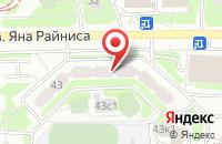 Схема проезда до компании Русьпромторг в Москве