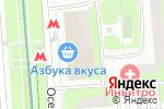 Схема проезда до компании Spaten Brau Munchen в Москве