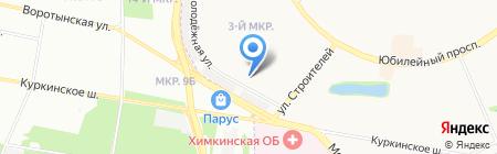 Контакт на карте Химок