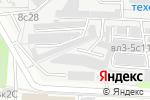 Схема проезда до компании Vingis Auto в Москве