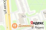 Схема проезда до компании Каравай-1 в Москве