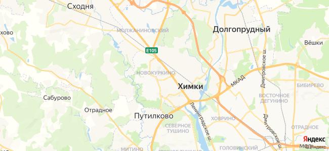 Хостелы Химок - объекты на карте