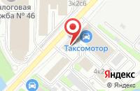 Схема проезда до компании Килич Текстиль в Москве