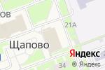 Схема проезда до компании Фур Инвест в Москве
