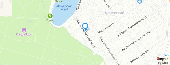 проезд Дачно-Мещерский 4-й