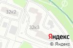 Схема проезда до компании Тождество в Москве