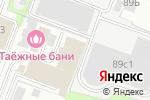 Схема проезда до компании Семицветик в Москве