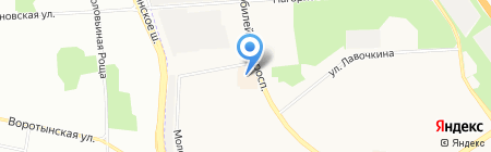 ПРОФИ на карте Химок