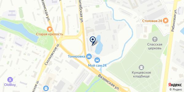 Регион99 на карте Москве