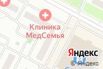 Схема проезда до компании МедСемья в Москве