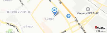 Детский сад №41 Катюша на карте Химок