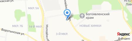 Почтовое отделение №141407 на карте Химок