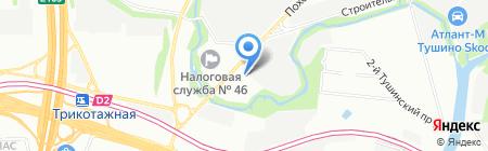 Мебакс на карте Москвы
