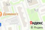 Схема проезда до компании Чип-Авто-Ключ в Москве