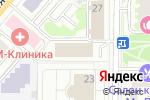 Схема проезда до компании Центральная профессиональная автошкола Москвы в Москве