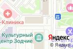 Схема проезда до компании На Молодёжной в Москве