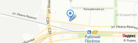Цветыш на карте Москвы