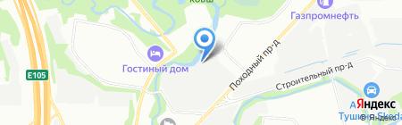 ВЕНАТОР на карте Москвы