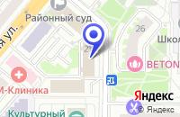 Схема проезда до компании МЕБЕЛЬНАЯ КОМПАНИЯ КАМБИО в Москве