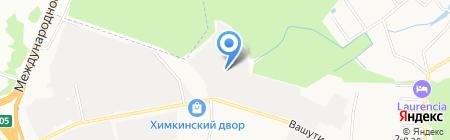 Фитинг на карте Химок