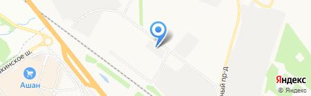 Диана-Логистик на карте Химок