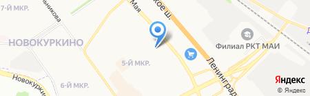 Почтовое отделение №141410 на карте Химок