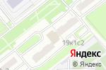 Схема проезда до компании Госземкадастрсъемка в Москве