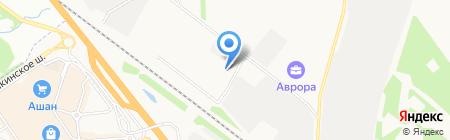 Лабромед на карте Химок