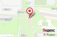Схема проезда до компании Магнус в Москве
