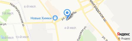 Русский Домъ на карте Химок