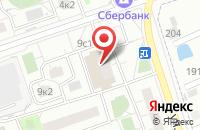 Схема проезда до компании Кузарт в Москве