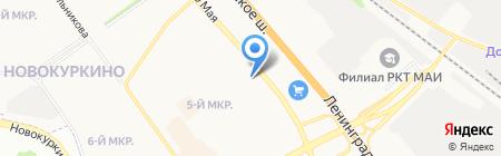 ВКС на карте Химок