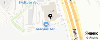 АВТОДОМ на карте Москвы