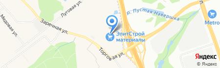 Belado на карте Москвы