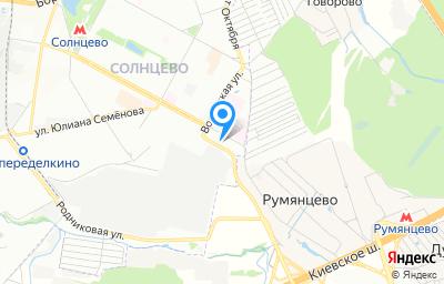 Местоположение на карте пункта техосмотра по адресу г Москва, ул Авиаторов, д 13 стр 15