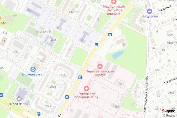 Ремонт телевизоров Улица Волынская на яндекс карте