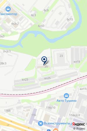 Центр кинологической службы на карте Москвы