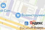 Схема проезда до компании Дизайн-МСК в Москве