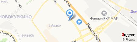 Автомобилист на карте Химок