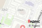 Схема проезда до компании ToyotaCarMine в Москве