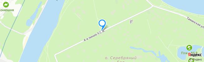 линия Хорошёвского Серебряного Бора 4-я
