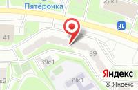 Схема проезда до компании Литера в Москве