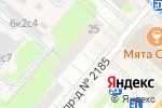 Схема проезда до компании ЗАЩИТА АВТОРСКИХ ПРАВ в Москве
