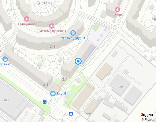 Управляющая компания «Территория Комфорта - Химки» на карте Химок