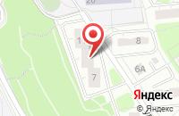 Схема проезда до компании Автотехника в Москве