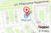 Схема проезда до компании Дефенс в Москве
